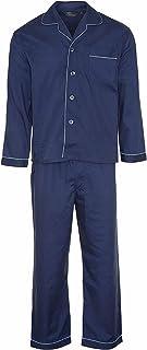 Mens Pyjama Set Sizes S M L XL XXL 3XL Nightwear Pyjama Woven Polyester/Cotton