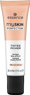 essence   My Skin Perfector Tinted Primer   Instant Blur Effect & Natural Matte Finish   Vegan, Paraben Free, Oil Free   C...