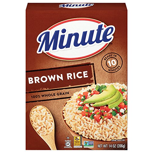 Minute Instant Brown Rice 14 oz