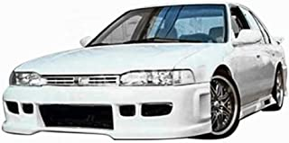 KBD Body Kits Compatible with Honda Accord 1990-1993 BW Spec Style 1 Piece Flexfit Polyurethane Front Bumper. Extremely Durable, Easy Installation, Guaranteed Fitment, Made in the USA!