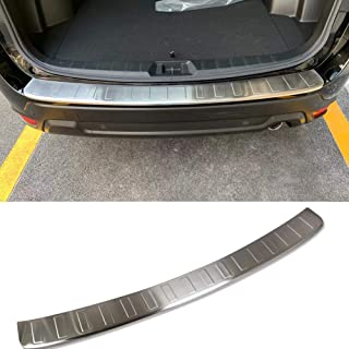 Beautost Fit for Subaru New Forester 2019 Rear Outside Bumper Sill Plate Guard Cover Trim Stainless (Silver)