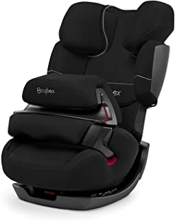 Cybex - Silla de coche grupo 1/2/3 Pallas, silla de coche 2 en 1 para niños, sin ISOFIX, 9-36 kg, desde los 9 meses hasta los 12 años aprox., color Negro (Pure black)