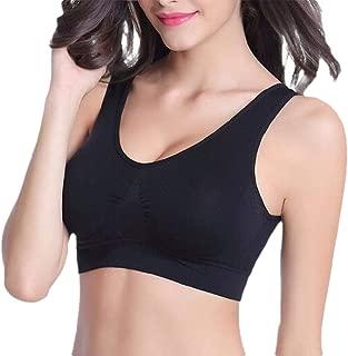 Women High Impact Seamless Comfortable Yoga Bra with Pads