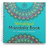 Libro Mandalas Para Colorear Adultos, 60 Dibujos Originales Mandalas Animales, Flor y Naturaleza Antiestres. Papel muy Grueso Blanco Calidad Premium, Sin Manchas, Tamaño 21x21 Encuardernacion Espiral.