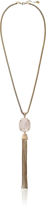Vince Camuto Rock Crystal Tasesl Y-Shaped Necklace, 32
