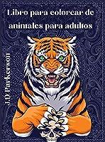 Libro para colorear de animales para adultos: Un Libro Único para Adultos - Diseños de Paisley - Libro para aliviar el estrés