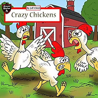 Crazy Chickens audiobook cover art