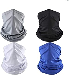 4 Pcs Cooling Neck Gaiters/Face Cover Balaclava for Men...