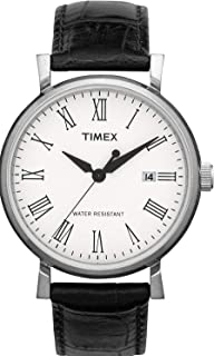 Timex Dress Watch For Unisex Analog Leather - T2N540