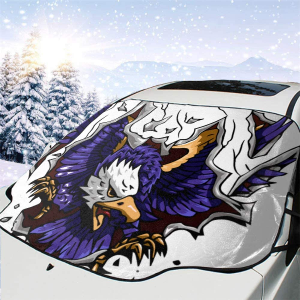 HRRPS Ranking TOP18 Car Front Windshield Cover All Water Eagle Clipart Weather Outlet ☆ Free Shipping