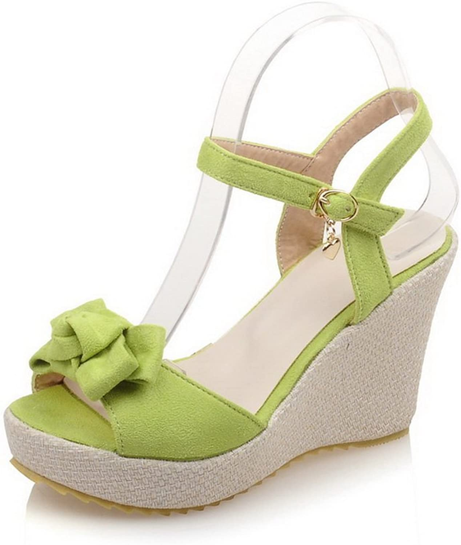 AdeeSu Womens Firm-Ground Cold Lining High-Heels Urethane Sandals SLC03760