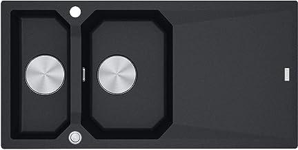 Franke FXG 661 Onyx - 114.0512.429 granieten spoelbak Excenterbediening