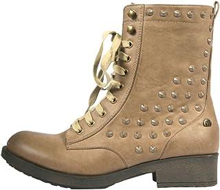 Amazon.es: botas de mujer mustang Cordones Zapatos