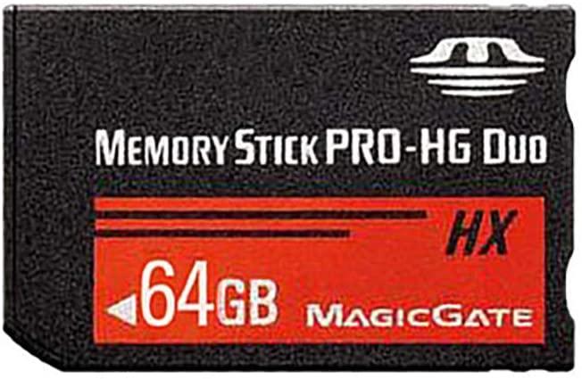 LICHIFIT 64GB Memory Stick MS Pro Duo Memory Card for Sony PSP High-Speed High Capacity