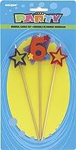 شموع الحفلات على شكل رقم #6