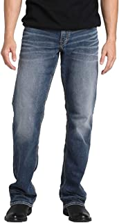 Men's Zac Knit Relaxed Fit Straight Leg Jeans