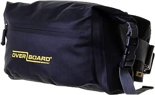 Overboard Pro-Light Waterproof Waist Pack- 6 litres, Black, 6L