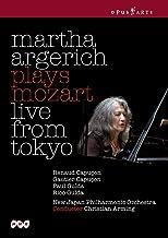 Martha Argerich spielt Mozart (Tokyo) [DVD] [Reino Unido]