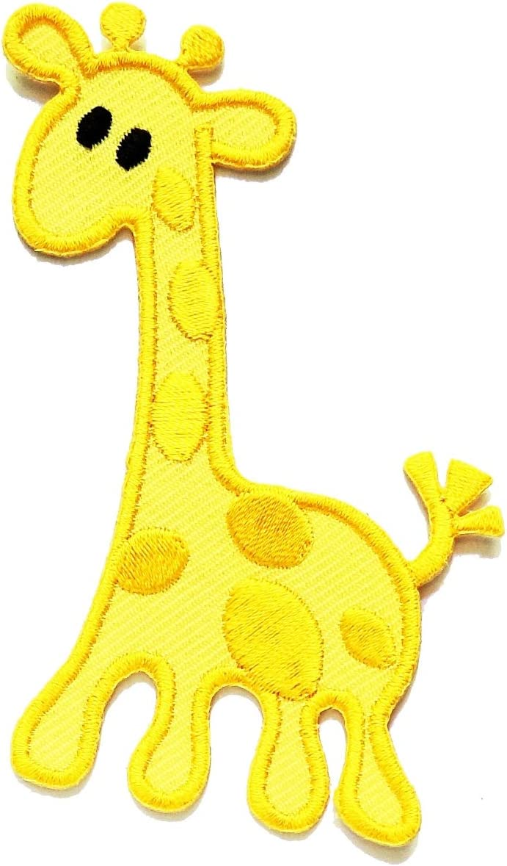 "3 1//2/"" Safari Savannah Giraffe Embroidery Patch"