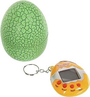 AMILIEe Electronic Tiny Pet Toy, Child Nostalgic Tumbler Dinosaur Egg, Original Tamagotchi Virtual Cyber Pet Eggshell - Re...