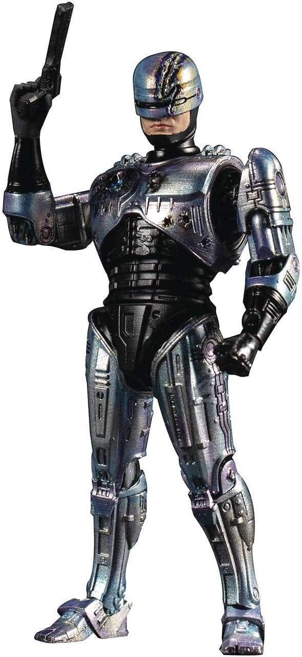 Hiya Toys Robocop 2: Battle Damaged Robocop 1:18 Scale Action Figure, Multicolor