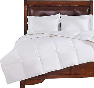 PEACE NEST White Goose Down Winter Comforter Duvet Comforter 800 Thread Count 600 Fill Power, Twin Size, White