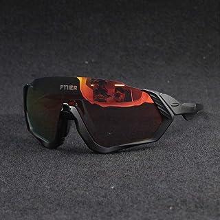 cec1feb465 HKYMBM Gafas de Sol de Ciclismo, Gafas fotocromáticas para Lentes de  protección UV Unisex.