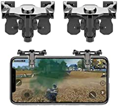 Gadgets Appliances New Product All Smartphones Pubg Trigger Mobile Game Controller Gaming Accessory Kit Multicolor for Android iOS