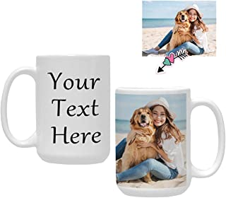 Best custom mug with photo and text Reviews