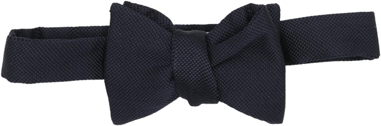 Carrot and Gibbs Men's Basket Weave Button Bow Tie
