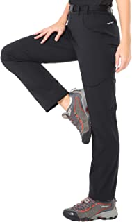 Women's Quick Dry Hiking Pants Outdoor Stretchy Tactical Cargo Pants with 6 Pockets, Lightweight, Water Resistant
