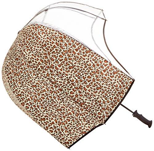 Repusel 1155 Rainshader stormvaste paraplu Panorama Leopard, 69 x 69 x 90 cm