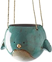 Bluebird Hanging Planter Pot - Ceramic - 7