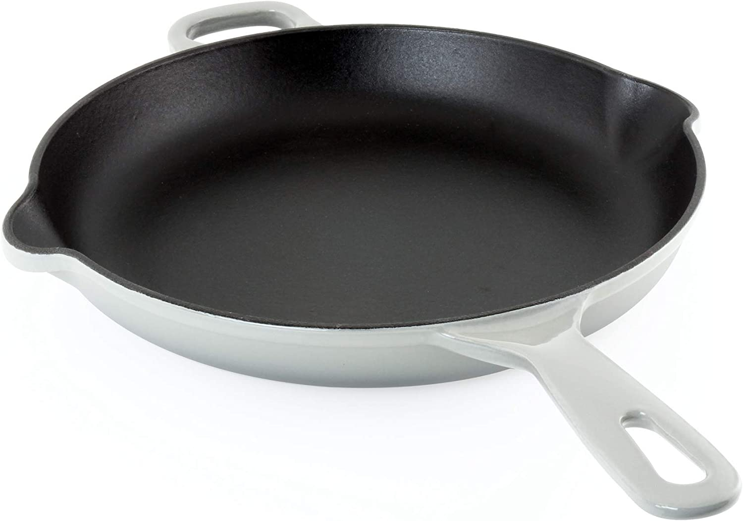 Chantal Enameled Ranking TOP18 Cast Iron Cookware Grey Fade 10 Skillet Max 41% OFF inch