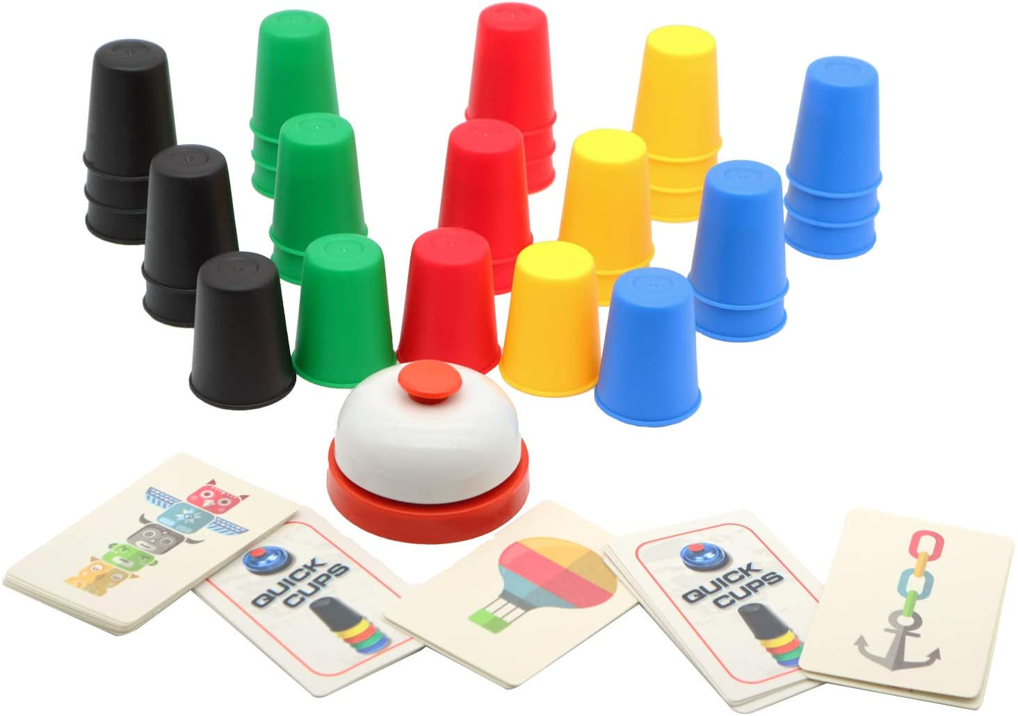 2021 Quick Cups Games NEW for Kids Stack Flying Stackin Intellectual