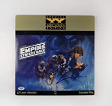 George Lucas Star Wars Empire Strikes Back Signed Laserdisc Certified Authentic PSA/DNA COA