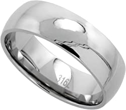 Best surgical steel wedding bands Reviews