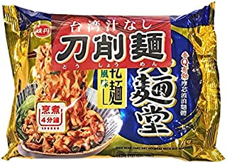 真麺堂 台湾汁なし刀削麺 醤油味 とうしょうめん