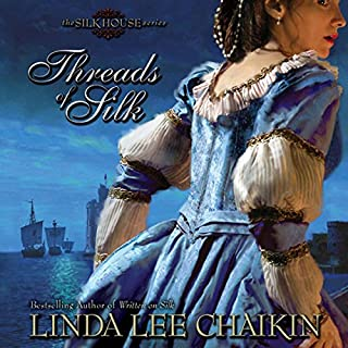 Threads of Silk     Silk House, Book 3              By:                                                                                                                                 Linda Lee Chaikin                               Narrated by:                                                                                                                                 Christine Rendel                      Length: 11 hrs and 22 mins     16 ratings     Overall 4.1