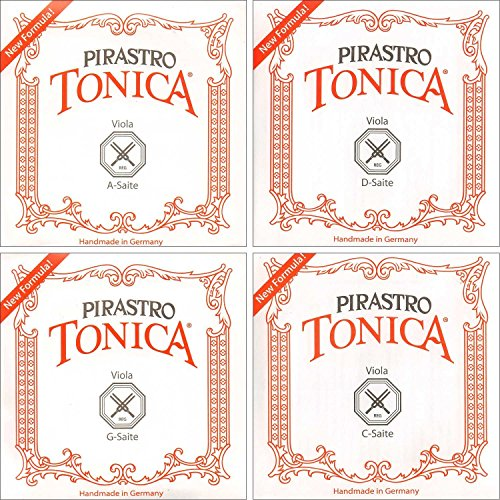 Pirastro Tonica up to 16.5 inch Viola String Set Medium