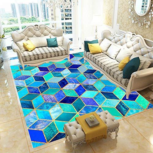 YCMXMY Tappeti Camera Da Letto Home Decor Nursery Star Rubik'S Cube Interni Sala Morbidi Pavimenti Arredamento 200X300Cm