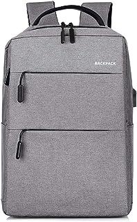 WJTWJSD Backpack Shoulder Bag Messenger Bag Laptop Bag Business Briefcase Casual Handbag Multi-Function Backpack Briefcases (Color : Gray)