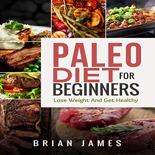Paleo Diet for Beginners audiobook cover art