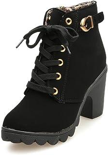 al por mayor disfruta de precio barato Venta barata Amazon.es: Botas De Mujer Baratas - Cordones / Zapatos ...