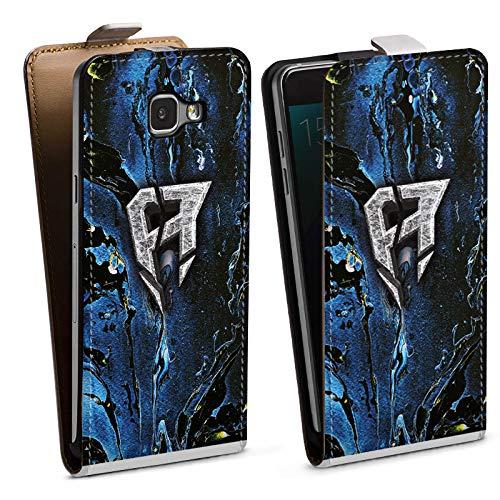 DeinDesign Tasche kompatibel mit Samsung Galaxy A5 Duos 2016 Flip Case Hülle ApoRed Merchandise Logo