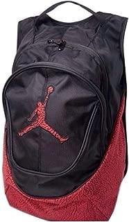 Nike Air Jordan Jumpman Backpack - Red/Black Elephant Pattern