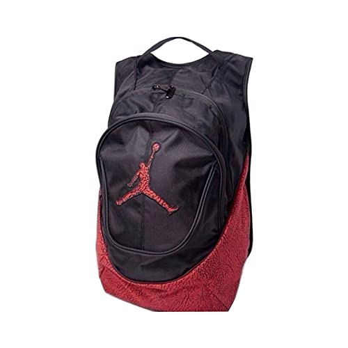 a91650858e6c76 Nike Air Jordan Jumpman Backpack - Red Black Elephant Pattern