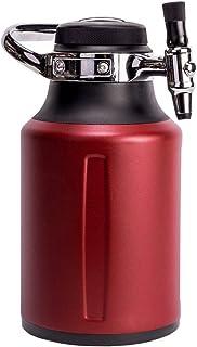 GrowlerWerks uKeg Go 炭酸グラウラー クラフト飲料ディスペンサー ビール ソーダ サイダー コンブチャ カクテル用 64オンス チリ