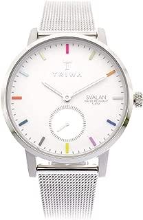 Triwa Women's Quartz Svalan Watch analog Display and Stainless Steel Strap, SVST107-MS121212