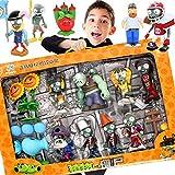 Plants Vs.Zombie 2 Toys Juego Completo De Regalo para Niños Eyección Anime Muñecas para Niños Figura De Acción Modelo De Juguete